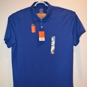 St John's Bay Blue Polo Men's Size XL  NEW